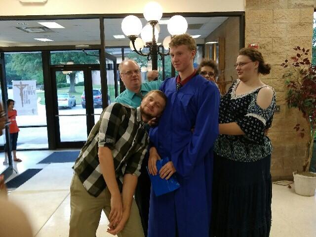 Drewbie Graduation